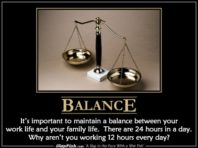On Balance and Grad SchoolBalance Life And School